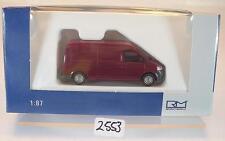 Rietze 1/87 11511 vw t5 MHD LR Transporteur Rouge foncé neuf dans sa boîte #2553