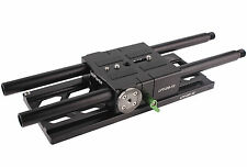 Lanparte Dovetail Baseplate 15mm Rod for BlackMagic Camera Cage BMCC DSLR Rig