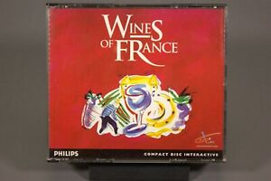 Phillips CD-I Interactive Game - Wines of France - Good