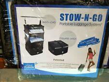STOW-N-GO PORTABLE LUGGAGE  ORGANIZER SYSTEM