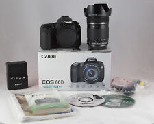 Canon EOS 60D 18.0MP Digital SLR Camera - (Kit w/ EF-S IS 18-135mm)