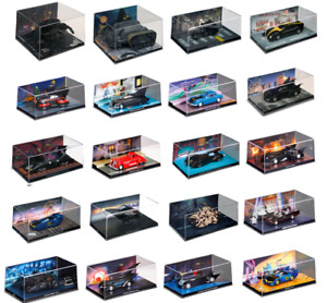 Lot de 20 véhicules de Batman 1/43 Collection Eaglemoss DC Comics Batmobile N2B