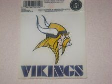 Minnesota Vikings NFL Football Reusable Static Cling Window Decal Sticker