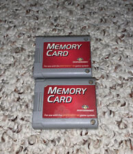 Lot Of 2 Performance Nintendo 64 N64 Memory Card P-302 TESTED