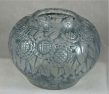 New ListingAndre Hunebelle French Art Deco Glass Vase With Floral Decoration