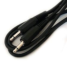 1.2 M 3.5 mm Mono Mâle Vers Prise Câble/Lead – aux Mélangeur Signal Audio Haut-parleur jack wire