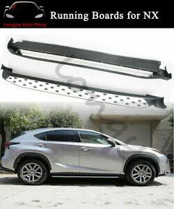 Running Boards fits for Lexus NX200 NX300h NX200T 2015-2021 Side Step Nerf Bars