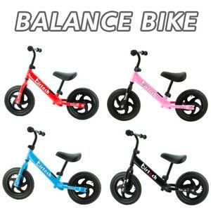 Balance Bike Walking Balance Training Toddlers 2-6 Years Old Kids Gift Pink Blue