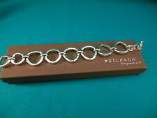 Silpada Jewelry ~   Sterling Silver Rush Bracelet   # B2709  New Box  Retired