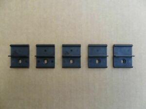 5 VINTAGE NOS BODY MOULDING CLIPS! '67-81 GM CHEVROLET GMC C10 TRUCKS BLAZER 4x4