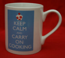 "McLAGGAN SMITH ""CATHERINE COLEBROOK"" KEEP CALM & COOKING!   MUG - PERFECT COND!"