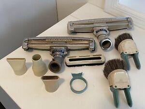 Vintage Electrolux Vacuum attachment Lot of 9 Nozzle Brush Parts