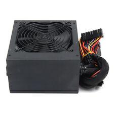 Watt Atx Supply Plug Black Pfc Pc Computer 650w Box / Fan Psu 12v Gaming Power
