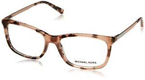 Michael Kors Vivianna II MK4030 Eyeglass Frames 3162-52 - Pink, Clear, Size