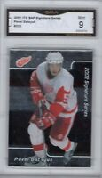 GMA 9 Mint PAVEL DATSYUK 2001/02 BAP Be A Player Sig Series ROOKIE Card REDWINGS