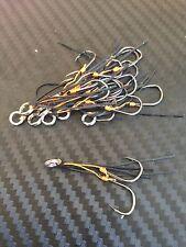 10X PFS Blade Vibe Fishing Lure Stinger Retrofit Replacement Hooks Eco Shrimp BK