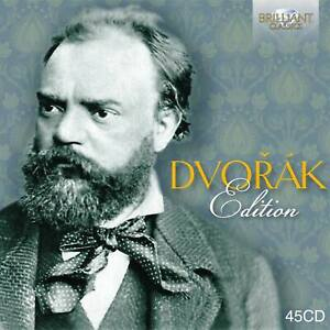 ANTONIN DVORAK - DVORAK EDITION - 45 CD BOX - BRILLANT CLASSICS