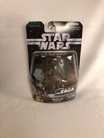 "Star Wars Saga Collection Princess Leia Boushh Disguise 3.75"" Figure #001 ROTJ"