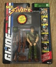 GI JOE 1994 COMMANDO SGT. SAVAGE ACTION FIGURE W/ VHS VIDEO HASBRO MOC MIP G.I.