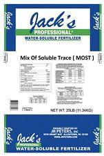 Jacks MOST Mix of Soluble Traces 1 lb. Trace Element Fertilizer JR Peters