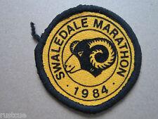Swaledale Marathon 1984 Walking Hiking Cloth Patch Badge