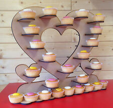 C1 HEART CUP CAKE STAND WEDDING AND CELLEBRATIONS CUP CAKE HEART