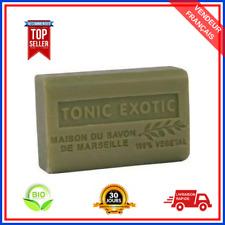Savon De Marseille Tonic Exotic Au Beurre De Karité Pure Bio 100% Naturel 125 gr