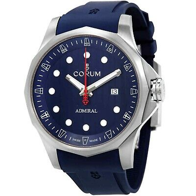 Corum A411-04171 Men's Admiral's Cup Blue Automatic Watch