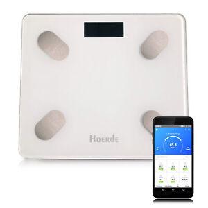 Hoerde Waage mit App – Fitness Körperwaage für Gewichtskontrolle und Diagnostik