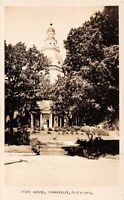 ANNAPOLIS MARYLAND STATE HOUSE~REAL PHOTO POSTCARD 1930s