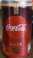 LOT 6 CANS COCA COLA CAFE COFFE  FROM ARGENTINA
