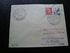 FRANCE - enveloppe 15/7/1951 (cy50) french