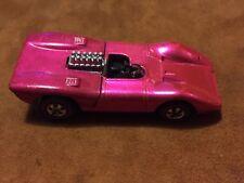 1969 Hot Wheels Redline FERRARI 312P Magenta/Rose 1:64 Scale Mattel