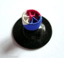 Rosette boutonnière médaille du travail, pour 30 années de service, diam: 6 mm.