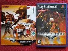 ZONE OF THE ENDERS THE 2ND RUNNER ORIGINAL BLACK LABEL SONY PLAYSTATION PS2 PAL