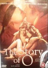 THE STORY OF O [Uncut Edition] Just Jaeckin*Udo Kier Cult Euro-Sleaze DVD *EXC*