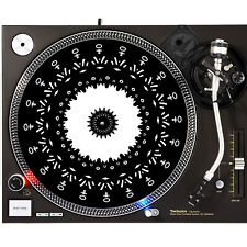 Portable Products Dj Turntable Slipmat 12 inch - Gothic Gods