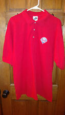 DYNASTY Men's Red Philadelphia Phillies Short Sleeve Golf / Polo Shirt Size XL