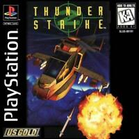 Thunder Strike Playstation 1 Game PS1 Used