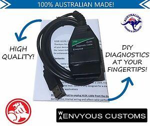 ALDL OBD1 DIAGNOSTIC CABLE USB SUITS HOLDEN COMMODORE VR VS VT VX VY ECU PCM OBD
