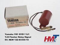 Yamaha YG1 GYS1 YJ1 YJ2 Indicator Flasher Relay Signal 6V. NEW 122-83350-10