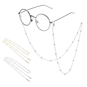 New 1PC Unisex Alloy Glasses Chain Necklace Accessories Non-slip Lanyard Decor