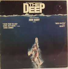 The Deep /motion picture Soundtrack vinyl LP Blue & Black vinyl 1977