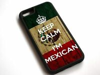 For iPhone XS Max Keep Calm I'm Mexican, Mexico Flag Case Cover #10088