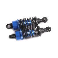 2pcs 65mm Adjustable Shock Absorber for 1:10 RC Drift Car Blue New