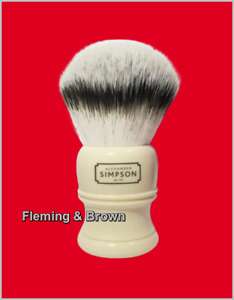 Simpsons Trafalgar Shaving Brush - British Made