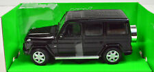 Mercedes-benz G Class Black Scale 1:24 from welly