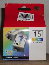 Canon BCI-15 Color Tinte cyan magenta yellow für i70 i80 Twin Pack 8191A002AA