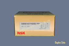 NSK 50BNR10STDUEL P4Y Super Precision High Speed Spindle Bearings.Set of Two