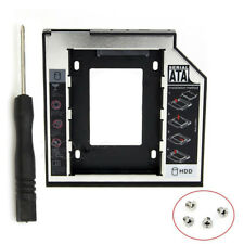 9.5mm Universal SATA 2nd HDD SSD Hard Drive Caddy for CD/DVD-ROM Optical Bay S10